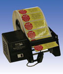 Dispensa-Matic DM-II label dispensers